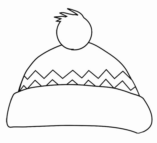 Winter Hat Coloring Page Beautiful 25 Best Ideas About Snowman