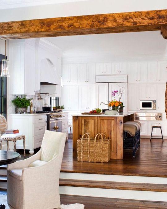 kitchen utilises harmonious colour palette to ensure the room doesn