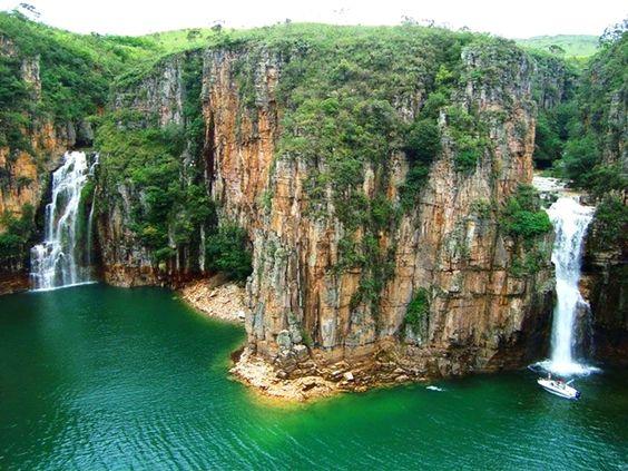Cachoeiras do Canyon – Furnas – Capitólio - Minas Gerais - Brasil: