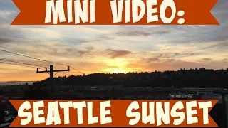 Beautiful sunset in Seattle -Mrs Vicky - YouTube  For Snapchat daily, follow me there: MRS-VICKY