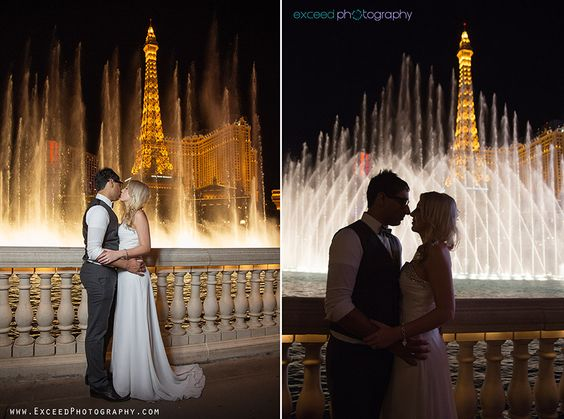 Las Vegas Strip Photo Tour Wedding Photographer Exceed Photography Photos Engagement Pinterest