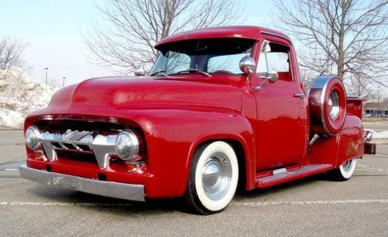 1954 Ford F100 Babies Birthday Gift