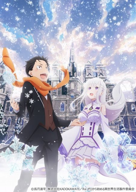Re Zero Starting Life In Another World New Ova Movie Is Decided Release Anime Manga Covers Subaru