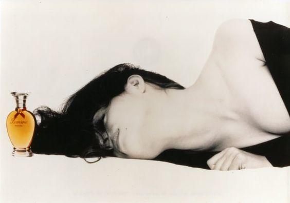 """Campanha """"Femme"""" filmado por Bruno Bisang em 1990."""
