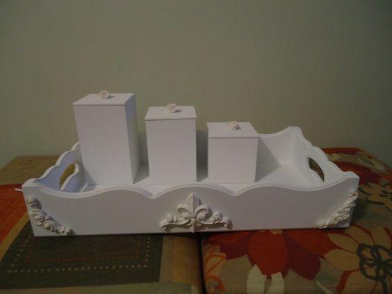 Kit higienico para bebê 4 peças. R$75,00