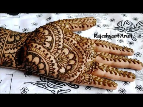 hand mehndi design easy