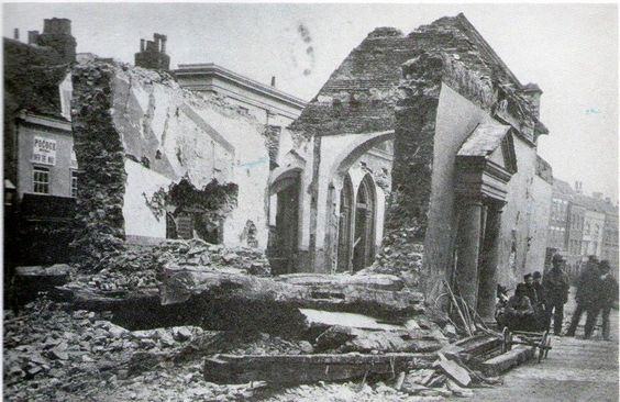 St Runwalds in 1878. Not much left by the looks of it!