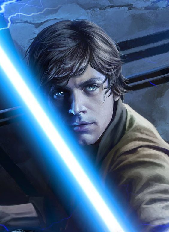 I chose this image of Luke Skywalker because it is extremely accurate to what he looks like in the movie.