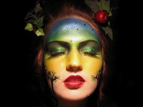Mother Earth makeup tutorial