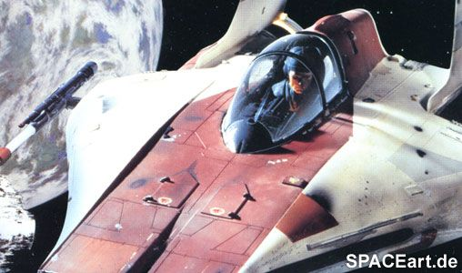 Star Wars: A-Wing Fighter, Modell-Bausatz ... http://spaceart.de/produkte/sw006.php