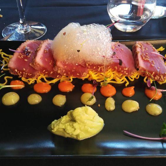 Tataki de atún #tataki #atún #casatinelo #japanesefood #tuna #tunatataki by _maier_