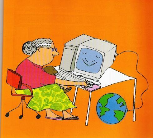 Ilustração de Marina Massarani para o livro Navegar é Preciso