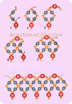 Passo a passo de Maxi Colares Entrelaçados em Gráficos: Nessa grande onda dos maxi colares, com as meninas todas por aí criando os seus próprios modelos...