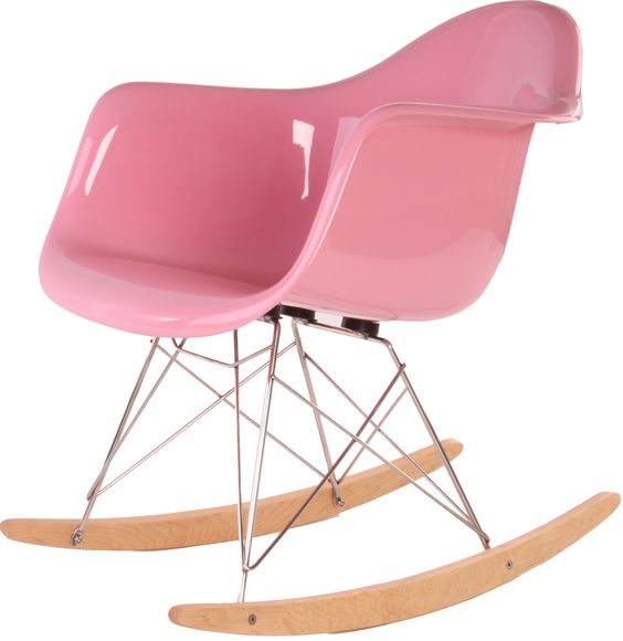 Replica Eames RAR Rocker   pink!   Pink   Pinterest   Rockers, Eames and Eames Rocker