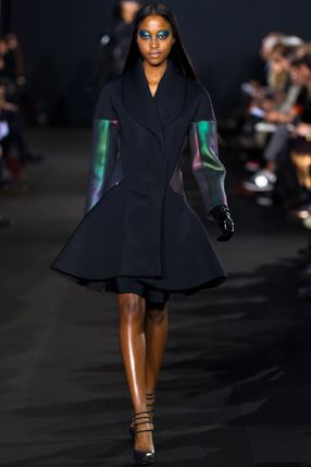 #PrabalGurung fall '12 beutiful peplum coat- already worn by #LadyGaga so you know it's cool.