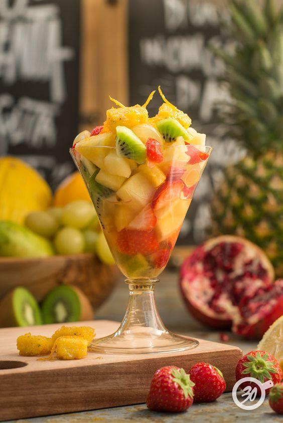 Macedonia di Frutta Fresca Da30Polenta non è solo Polenta! www.da30polenta.com  #foodie #foodporn