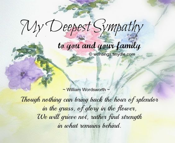 The  Best Sample Condolence Message Ideas On