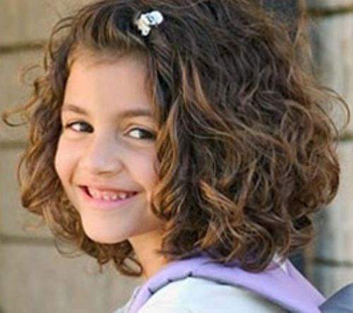 Admirable Curly Hair Hairstyles And Little Girls On Pinterest Hairstyles For Women Draintrainus