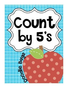This is a free download that includes apple counting by 5 cards ...