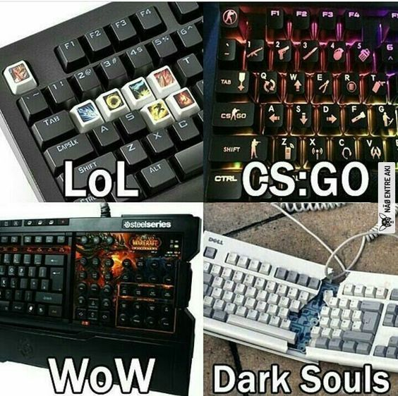 Funny Game Memes In 2020 Funny Games Funny Gaming Memes Dark