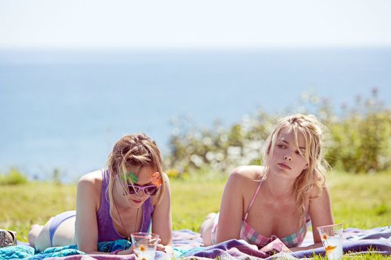 Pin for Later: The Ultimate Bikini Movie Gallery Vanessa Kirby and Margot Robbie, About Time