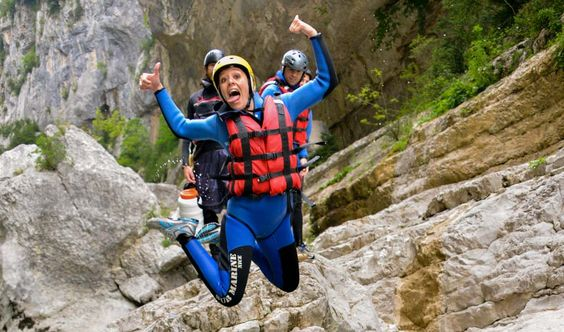 Canyoning in the Verdon and Southern French Alps with Aqua Viva Est