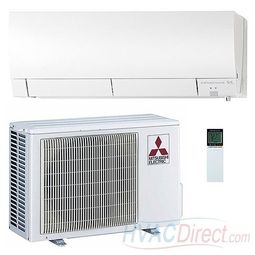 Mitsubishi Mz Fh06na 6 000 Btu 33 1 Seer Ductless Mini Split Heat Pump Mitsubishi Air Conditioner Ductless Mini Split Ductless