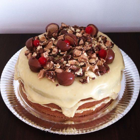 Naled Cake com sonhos de valsa! #nakedcomcobertura #sonhodevalsa