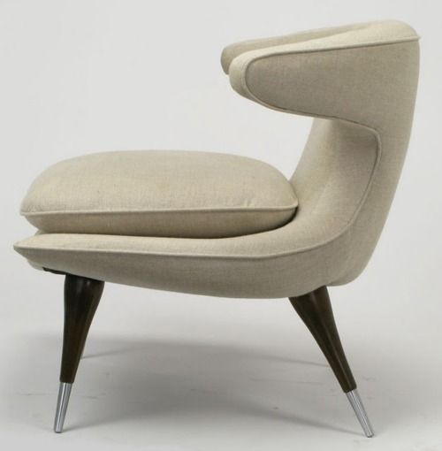 Karpen Horn Lounge Chair