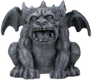 Christian says that Lily looks like a gargoyle in Chapter 34 RG