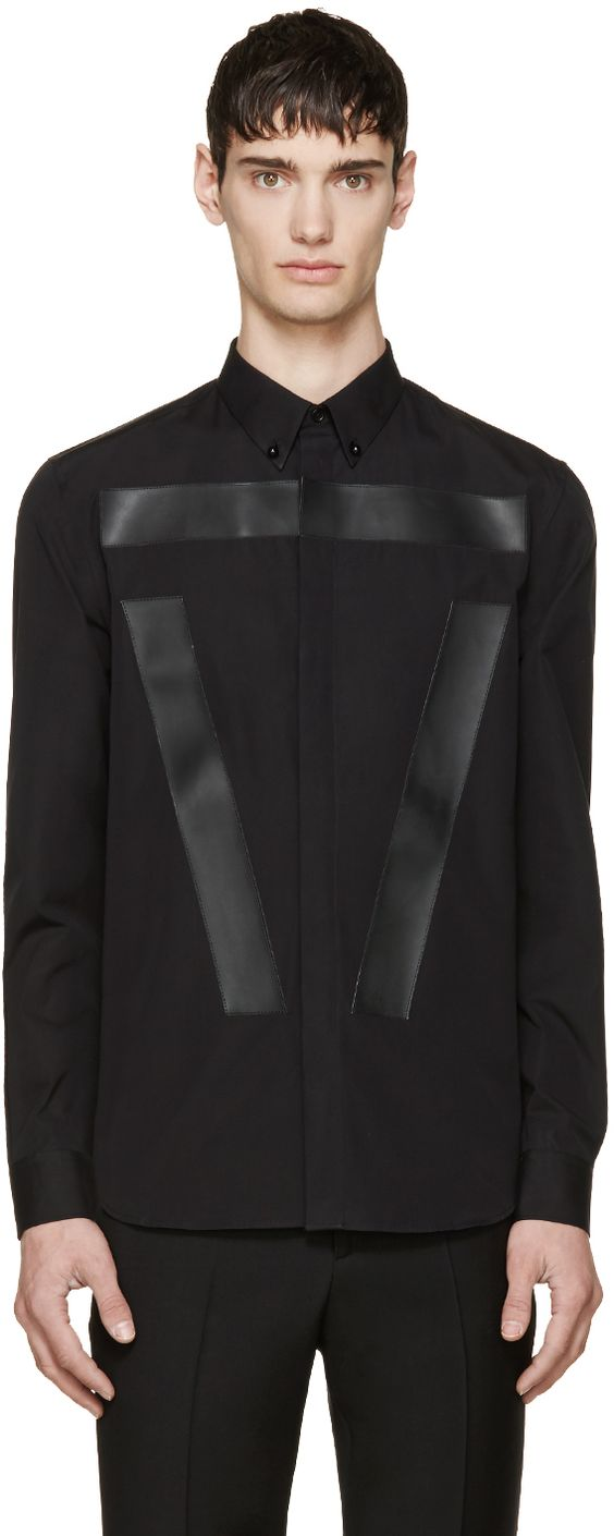 Givenchy - Black Cuban Fit Button-Down Shirt
