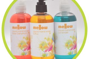 Buy 2 products from the Bath/Shower range and get a FREE 250ml bottle of your choice    Mellow Skincare