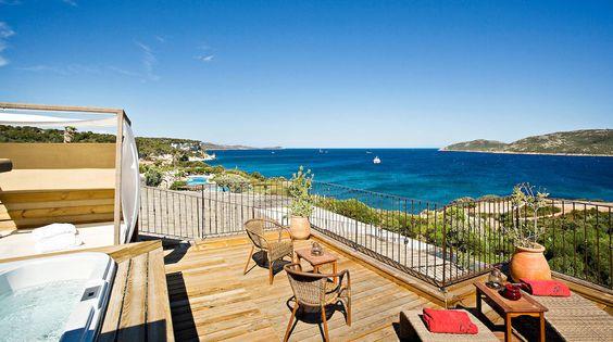 Hotel U Capu Biancu , Korsika // Flitterwochen-Geheimtipp
