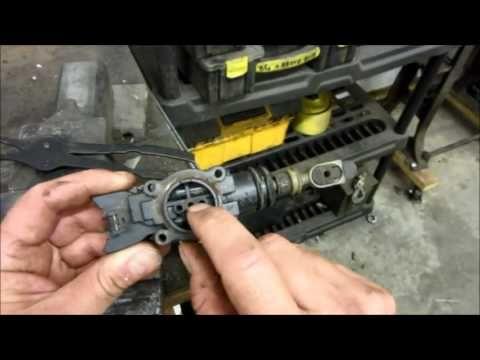 Gm Power Door Lock Actuator Rebuild Youtube Actuator Door Locks Door Switch