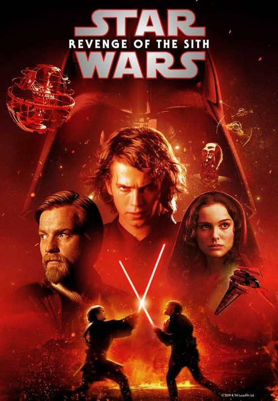 Star Wars: Revenge of the Sith Disney+ poster