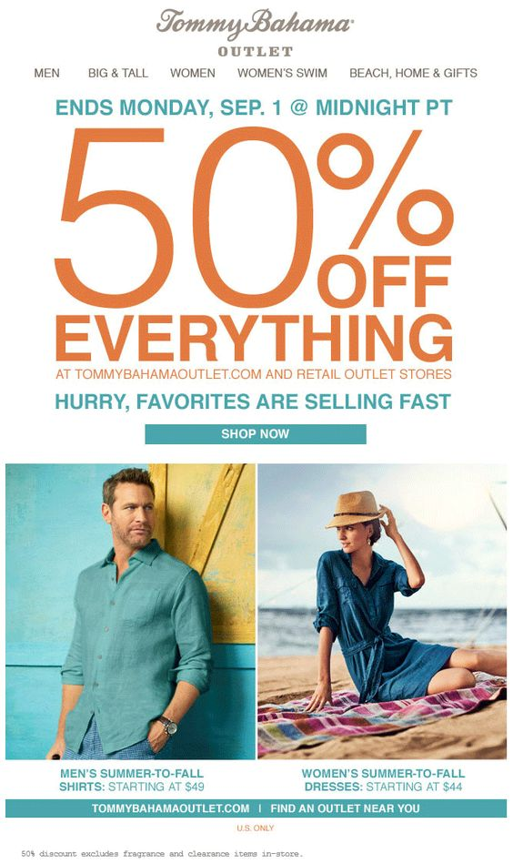Pinned August 30th Everything Is 50 Off At Tommybahama Outlet Locations Ditto Online Coupon Via The Coupons App Womens Swim Coupon Apps Fall Shirts
