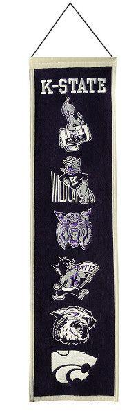 Heritage Banner | Kansas State University, $29.95 #KState #EMAW #Powercat