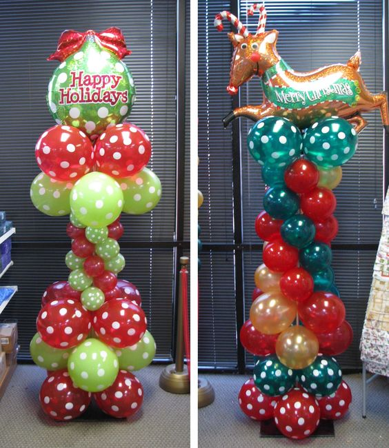 Christmas columns party ideas pinterest