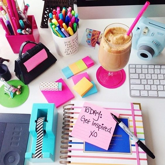 Professionally Preppy! Oh how ridiculously over-excited I become at the very sight of Office Supplies.