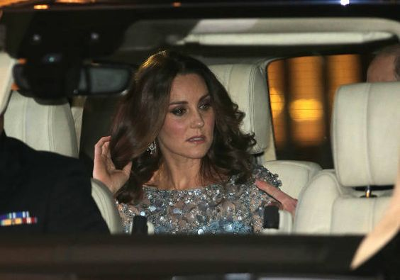Catherine Duchess of Cambridge attends the Royal Variety Performance at Palladium Theatre on November 24 2017 in London England