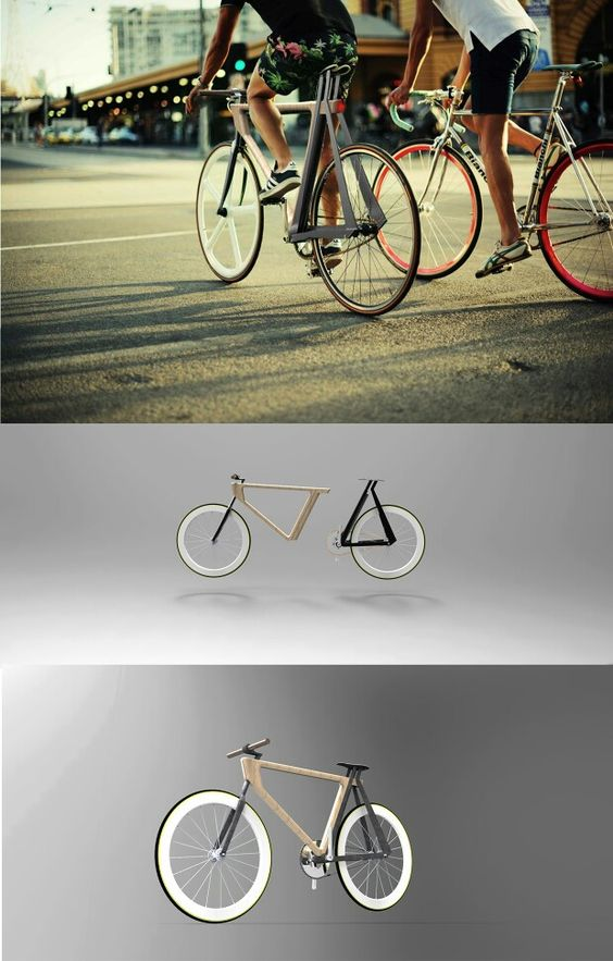 Split is a removable fixie bike concept. The goal of this one week project was to allow the user to bring it easily in its car.