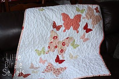 maybe I'll have a little girl that'll need this quilt...or maybe Elsie Ann will want it?? @Laura Wood
