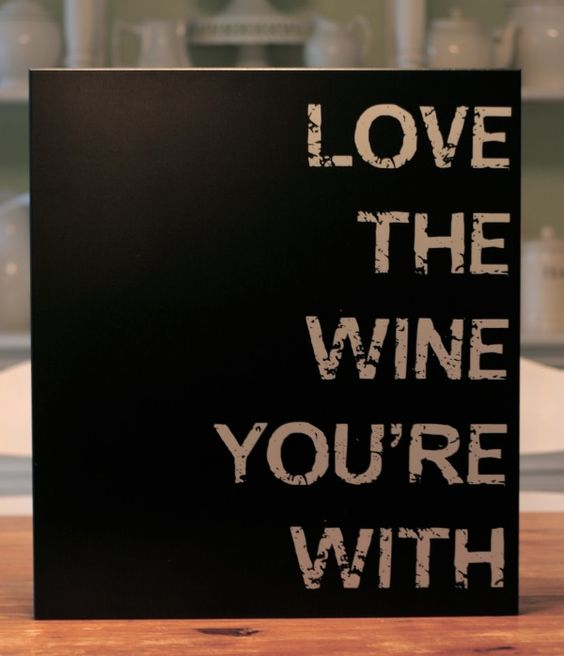 Love the wine your with ;-)
