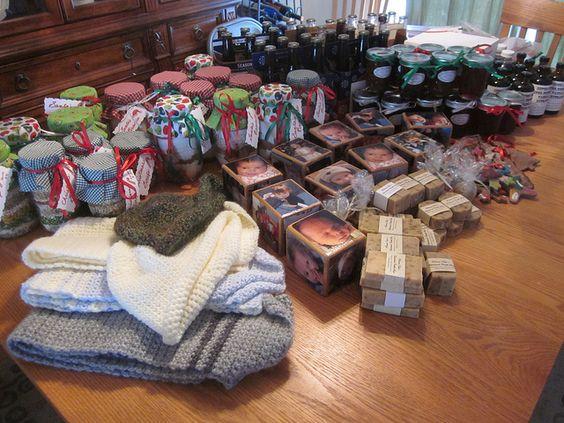 homemade gifts for Christmas