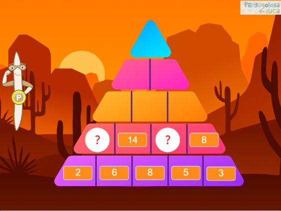 Pirámide de sumas