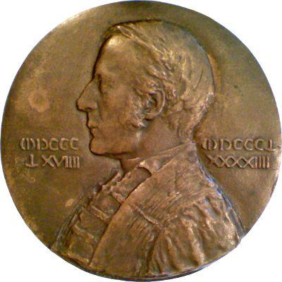 Charles William Eliot Medallion by Bela Lyon Pratt (1894)