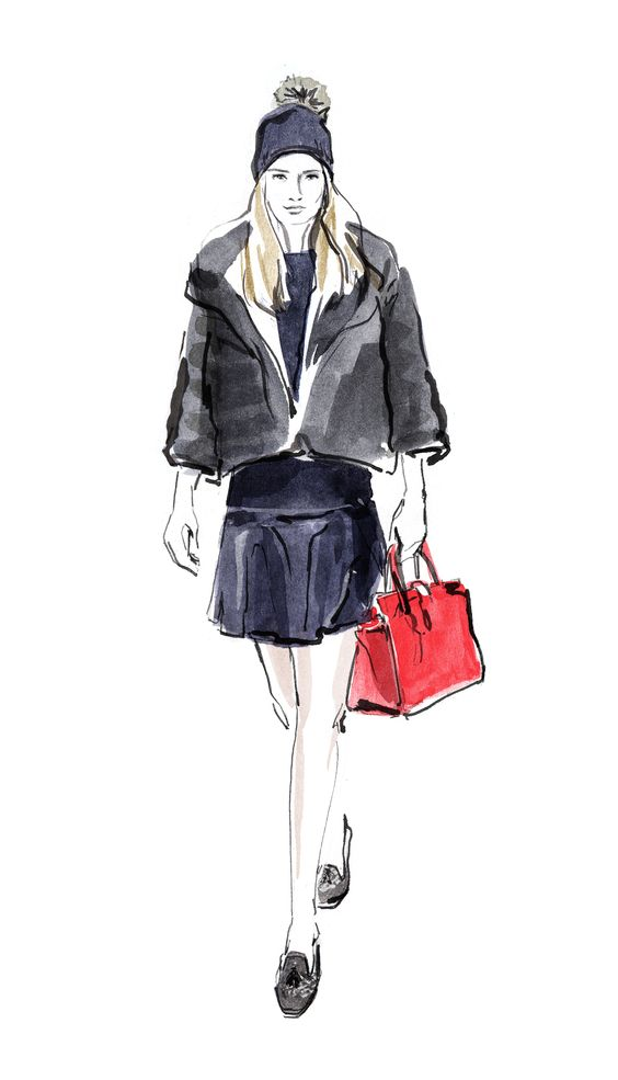 This is the season for a little luxury, so indulge in a faux fur jacket from Tommy Hilfiger