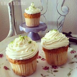 cupcakes de mojito/mojito cupcakes
