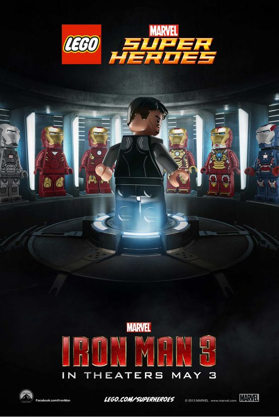 Lego Movie Posters (not the Lego Movie, but Movies Posters with added Lego magic)
