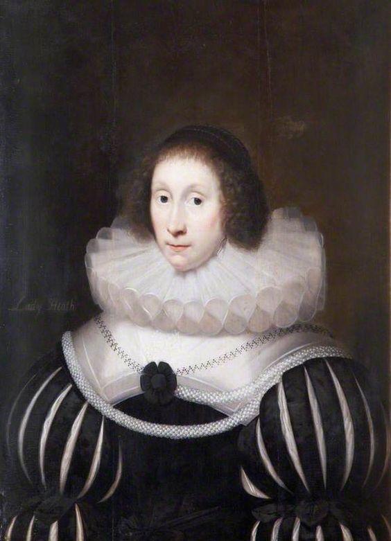 Margaret Miller (1578–1647), Lady Heath by Cornelis Janssens van Ceulen      Date painted: c.1631: